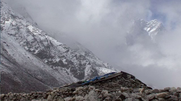 The Himalayas From Dingboche