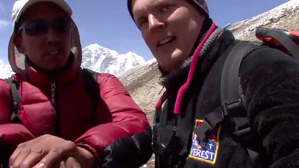 Jon And Apa Sherpa